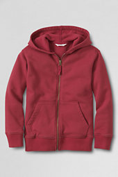 Boys' Hooded Zip-front Sweatshirt