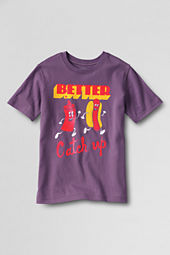 Boys' Short Sleeve Catch Up Graphic T-shirt