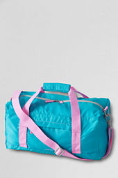 Medium Solid Packable Duffel Bag