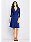 Women's Regular Ponte Jersey Wrap Dress