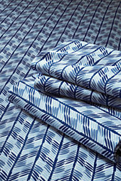 Boys' 200-count Percale Print Multi Stripe Sheet Set