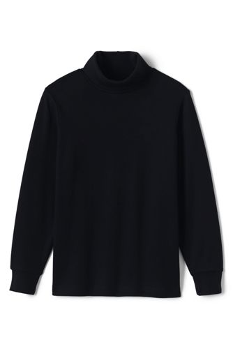Kids' Jersey Roll Neck