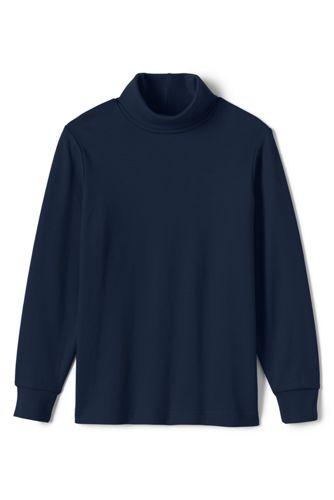 Le T-Shirt Col Roulé Manches Longues Garçon