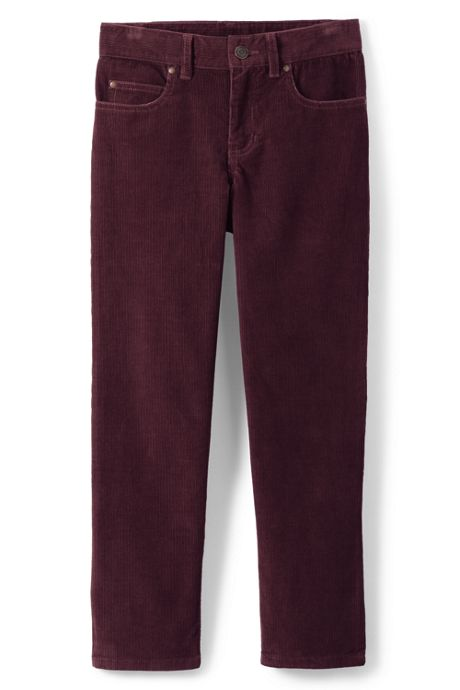 Boys Slim 5-pocket Corduroy Pants
