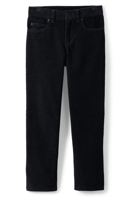 School Uniform Boys Husky 5-pocket Corduroy Pants