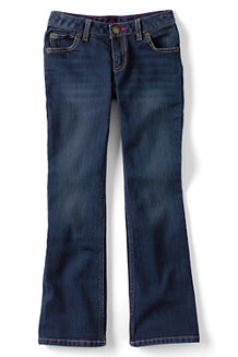 Girls' 5-Pocket Denim Bootcut Jeans