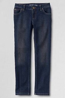 Girls' 5-Pocket Pencil Leg Denim Jeans