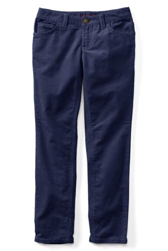 Girls Pencil Leg Corduroy Jeans from Lands' End