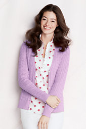 Women's Baby Cable Cardigan