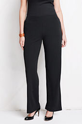 Women's Plus Size Matte Jersey Wide Leg Pants