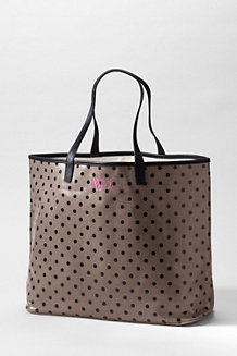 Print Coated Canvas Large Shopper