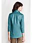 Pima-Tunika mit gewebtem Polo-Kragen für Damen in Petite-Größe
