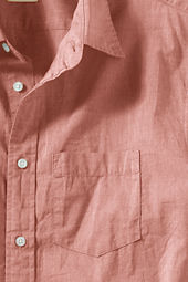 Men's Short Sleeve Lightweight Chambray Shirt