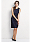 Women's Regular Embroidered Overlay Shift Dress