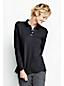 Piqué-Poloshirt mit langen Ärmeln für Damen