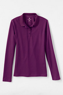 Women's Sporty Long Sleeved Piqué Polo