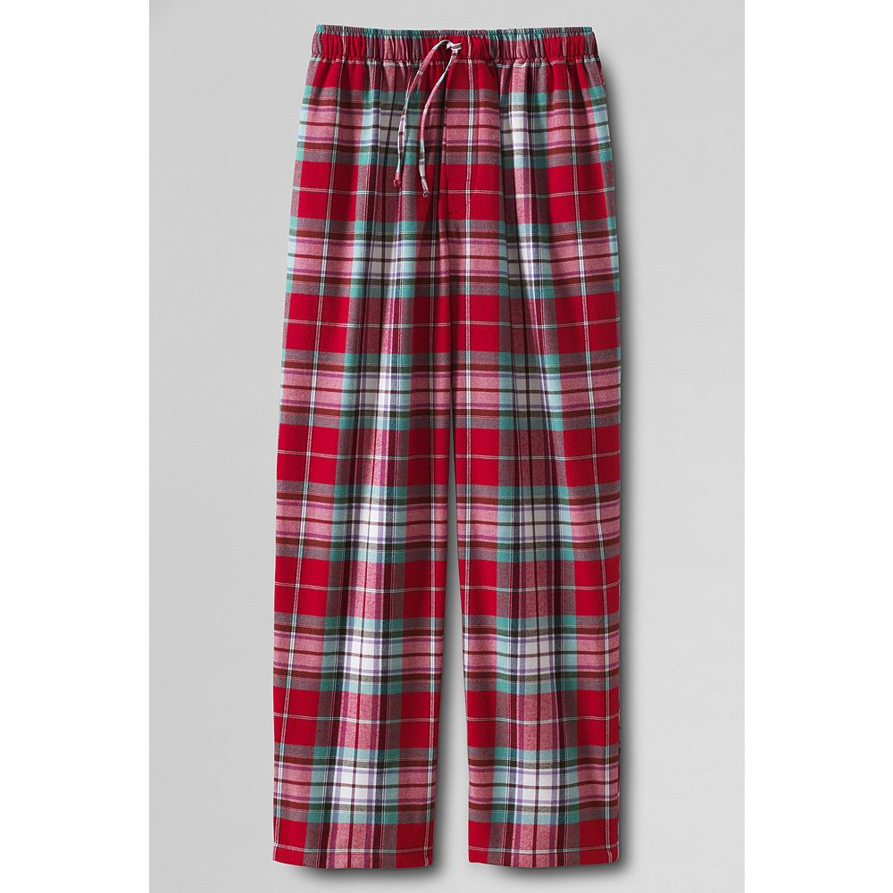 Lands' End Men's Big & Tall Flannel Pajama Pants at Sears.com