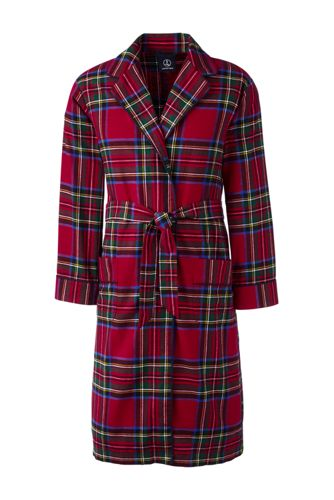 Men's Flannel Robe from Lands' End