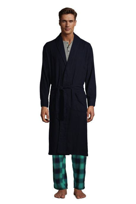 Men's Flannel Robe