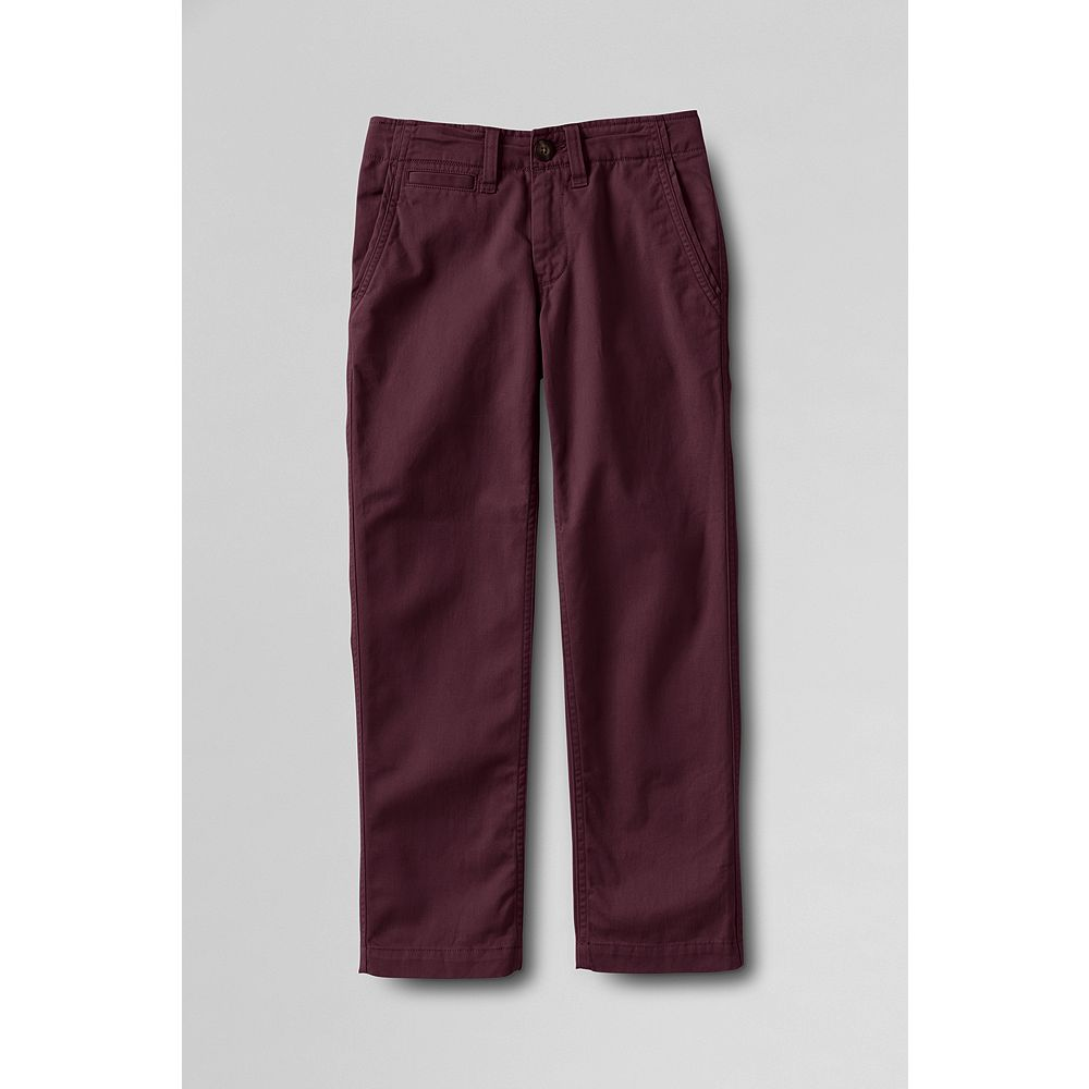 Lands' End Boys' Iron Knee Twill Cadet Pants at Sears.com