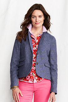 Women's Classic Wool Cropped Jacket