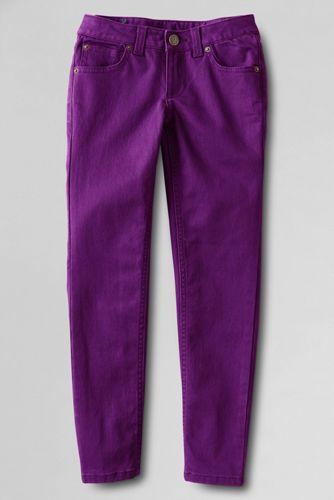 Girls' Pencil Leg Coloured Jeans