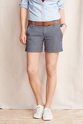 Women's Seersucker Shorts