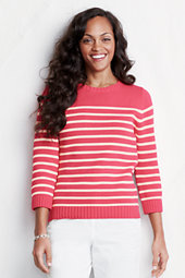 Women's Three-quarter sleeve Engineered Stripe Drifter™