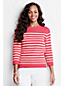 Women's Regular Three-quarter sleeve Engineered Stripe Drifter™