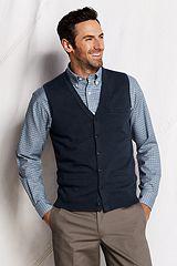 Merino Sweater Vest 434707: Classic Navy