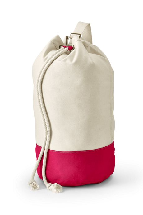 School Uniform Canvas Laundry Duffle