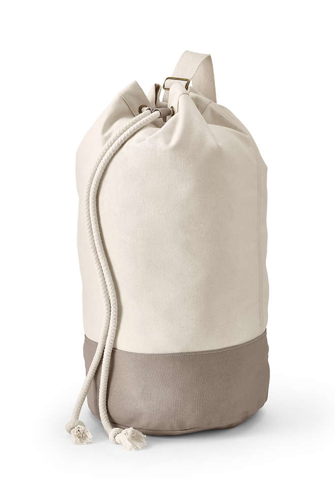 Canvas Laundry Duffle, Unknown