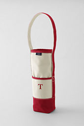 Single Insulated Canvas Wine Tote