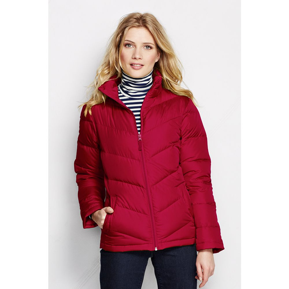 Lands' End Women's Tall Core Down Jacket at Sears.com