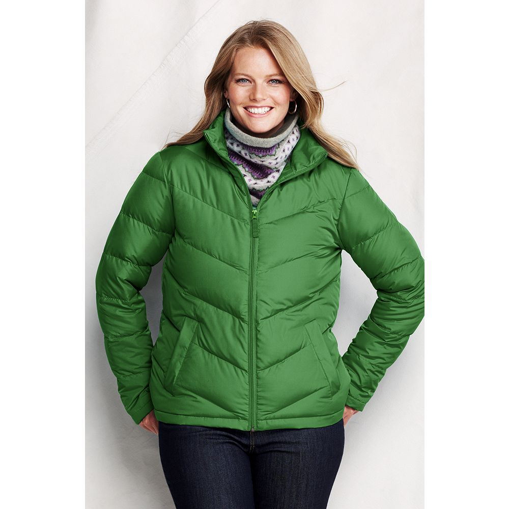 Lands' End Women's Plus Size Core Down Jacket at Sears.com