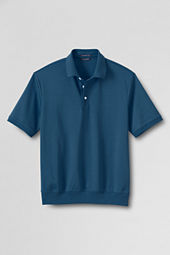 Men's Short Sleeve Banded Bottom Supima Polo