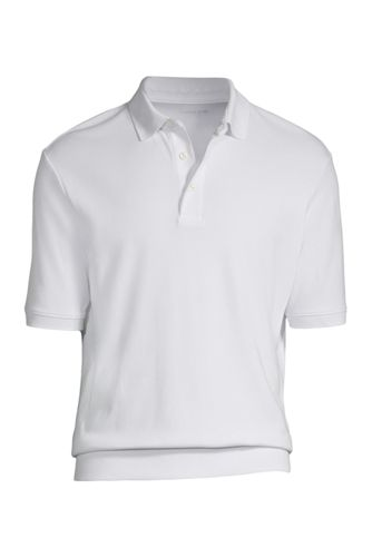 Men 39 S Supima Banded Bottom Polo Shirt From Lands 39 End