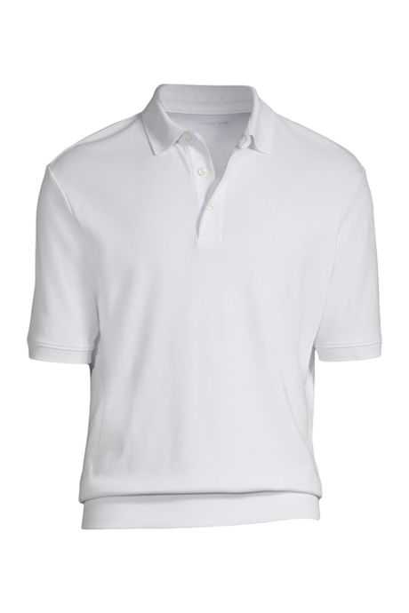 Men's Supima Short Sleeve Banded Bottom Polo Shirt ...