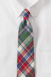 Men's Summer Madras Necktie
