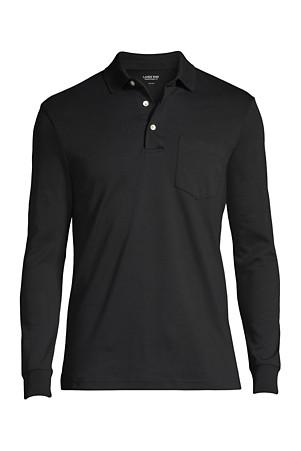 Men S Long Sleeve Supima Polo Shirt