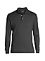 Men's Long Sleeve Supima Polo Shirt with Pocket