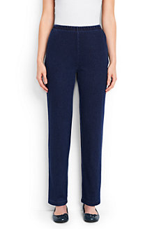 Women's Sport Knit Denim Trousers