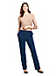 Women's Sport Knit Denim Straight Leg Trousers