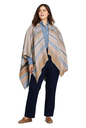 Women's Plus Size Sport Knit Denim High Rise Elastic Waist Pull On Pants