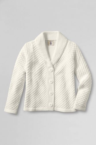Girls' Chunky Textured Cardigan