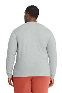 Men's Big and Tall Super-T Long Sleeve T-Shirt, Back