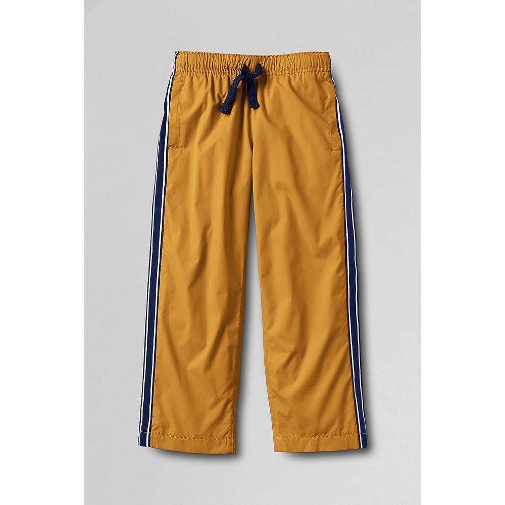 Lands' End Little Boys' Mesh Lined Track Pants