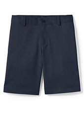Schoool Unifrom Boys' Plain Front Blend Chino Shorts