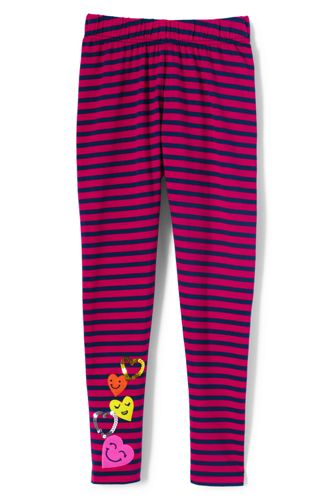 Girls' Patterned Leggings
