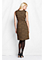 Women's Regular Ponte Jersey Sleeveless Shift  Dress